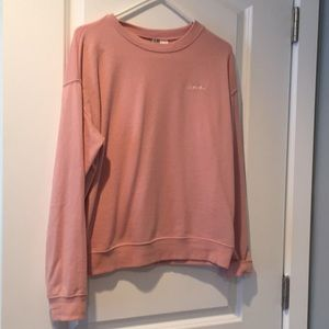 "Blush Pink ""Love"" Sweatshirt"
